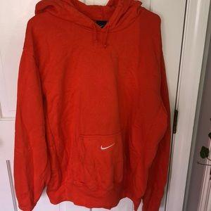 - Mens Nike hooded sweatshirt